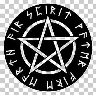 Pentagram Pentacle Wicca Runes Witchcraft PNG