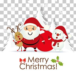 Santa Claus Christmas Card Greeting Card E-card PNG