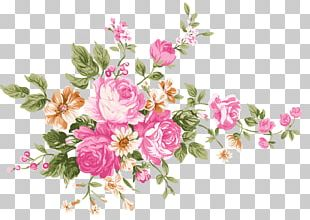 Vintage Bouquet Of Flowers PNG