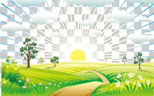 Nature Landscape Euclidean PNG