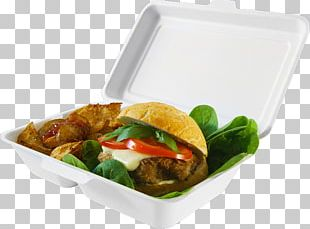 Take-out Hamburger Lunch Vegetarian Cuisine Container PNG