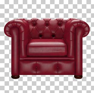 Club Chair Couch Furniture Chesterfield PNG