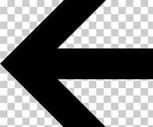Bold Arrow Left PNG