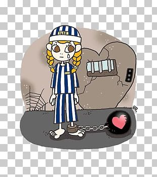 Cartoon Prison Illustration PNG
