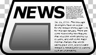 Newspaper Graphics Headline PNG