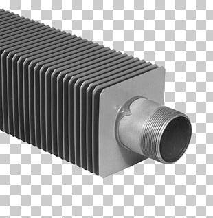 Fin Pipe Tube Heat Radiator PNG