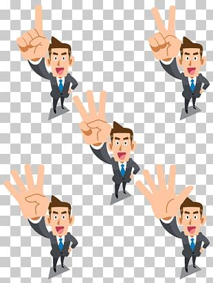 Businessperson Cartoon Illustration PNG