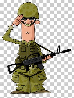 Soldier Cartoon Military PNG