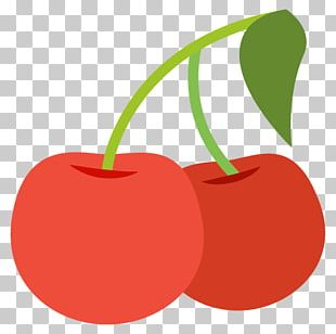 Emoji IPhone Text Messaging Cherry Sticker PNG