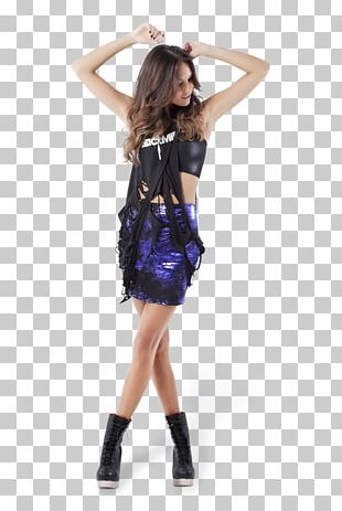 Cocktail Dress Fashion Purple Costume PNG