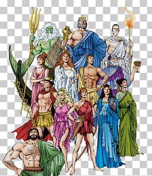Zeus Ares Hera Ancient Greece Greek Mythology PNG