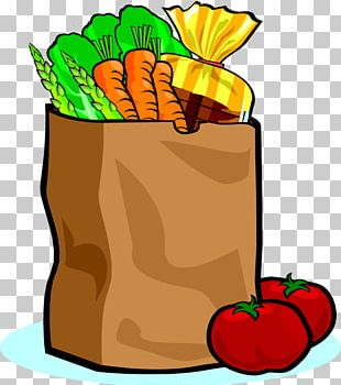 Grocery Store Shopping Bags & Trolleys PNG