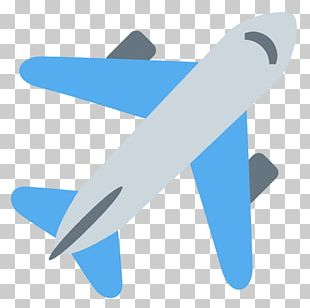 Flight Airplane Travel Emoji Vacation PNG