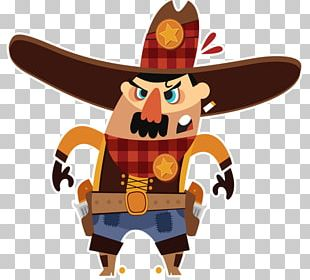 Sheriff American Frontier Western PNG