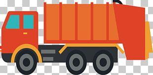 Cargo Garbage Truck Waste PNG