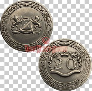 Coin Silver Medal Nickel Metal PNG