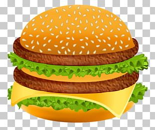Hamburger McDonald's Big Mac Veggie Burger Fast Food French Fries PNG
