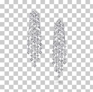 Earring Graff Diamonds Jewellery Brilliant PNG