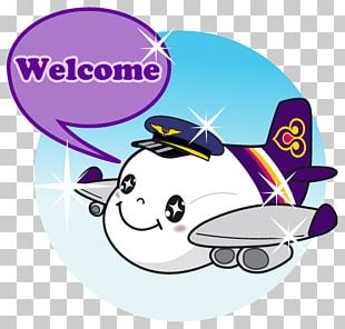 Airplane Aircraft Sticker Thai Airways Company PNG
