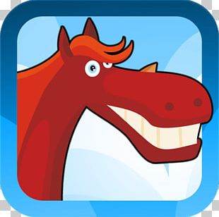 Horse Character Cartoon PNG