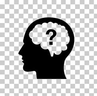 Thought Question Brain Icon PNG