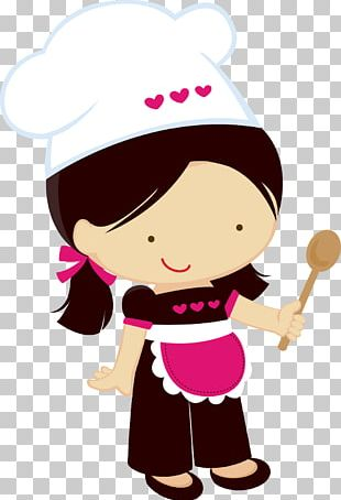 Chef Girl Woman Cooking PNG