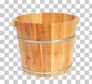 Bucket Barrel Wood PNG