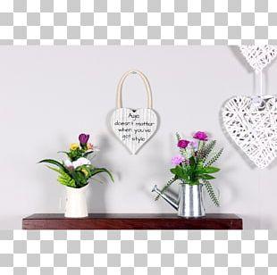 Floral Design Vase Artificial Flower PNG
