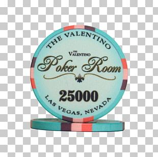 Valentino SpA Product Recreation Casino Token Turquoise PNG