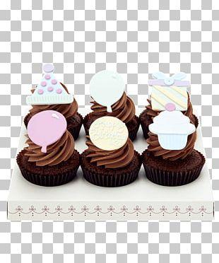 Cupcake Petit Four Praline Muffin Buttercream PNG