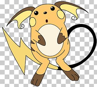 Puppy Pikachu Raichu Pokémon PNG