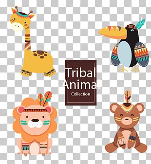 Cat Animal Tribe PNG