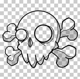 Doodle Drawing Art Tattoo Skull PNG