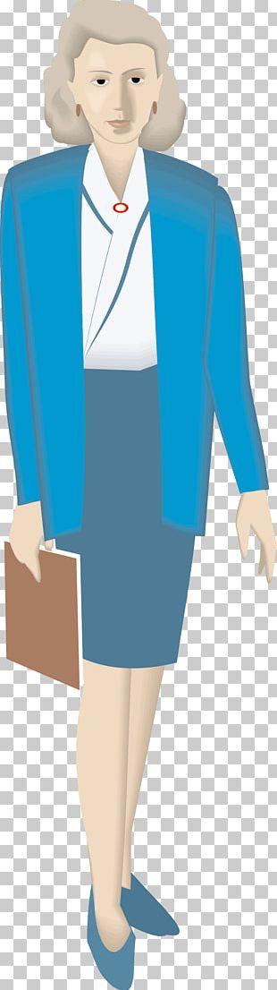 Woman Figure Flat Design Illustration PNG