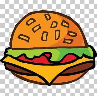 Hamburger French Fries Cheeseburger Hot Dog Fizzy Drinks PNG