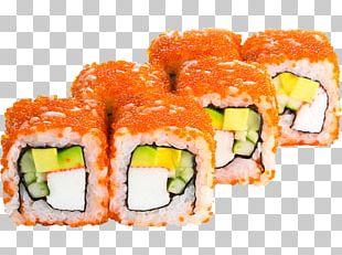 Makizushi Sushi California Roll Smoked Salmon Pizza PNG