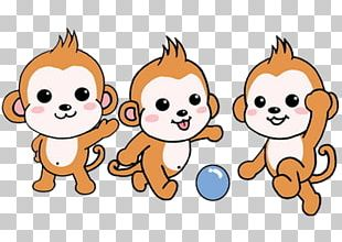 Monkey Lemur Cartoon PNG