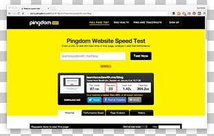 Speedtest.net Web Page Internet Access PNG