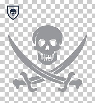 Jolly Roger Flag Piracy Jack Sparrow Decal PNG