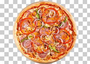 California-style Pizza Sicilian Pizza Italian Cuisine Salami PNG