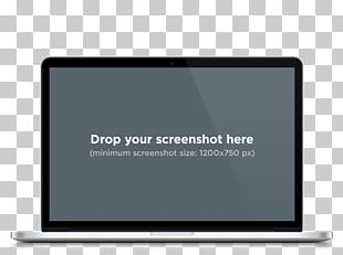 Laptop MacBook Pro Mockup Responsive Web Design PNG