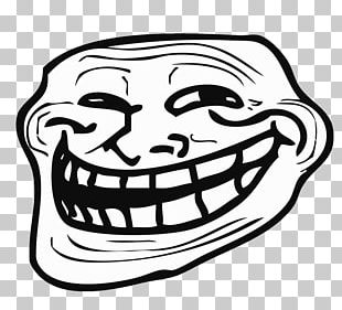 Left Troll Face PNG