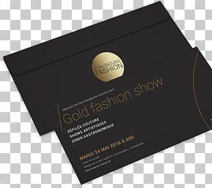 Fashion Week Fashion Show Strasbourg Business Cards PNG