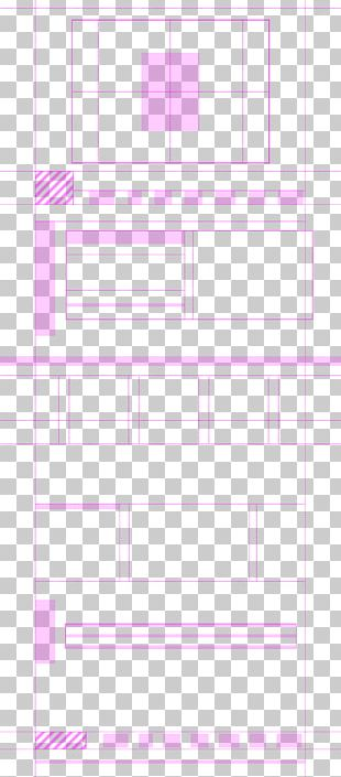 Line Point Angle Pink M Font PNG