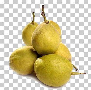 Pear Fruit Lemon Food PNG