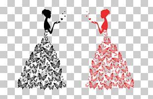 T-shirt Wedding Dress Bride PNG