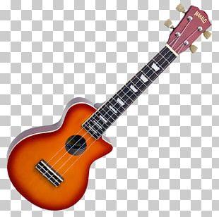 Electric Guitar Musical Instruments Kala Makala MK-SD Dolphin Soprano Ukulele PNG