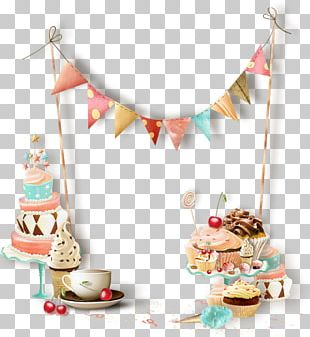 Birthday Cake January Party PNG