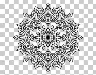 Mandala Coloring Book Drawing Mehndi PNG