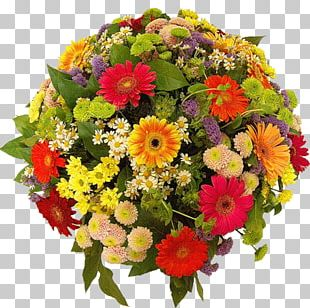 Flower Bouquet Florist Cut Flowers Rose Gift PNG